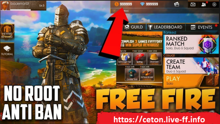 ceton live /ff garena free fire hack